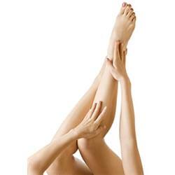 triệt lông vùng chân