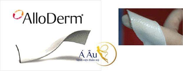 Chất liệu sụn alloderm được sử dụng trong nâng mũi