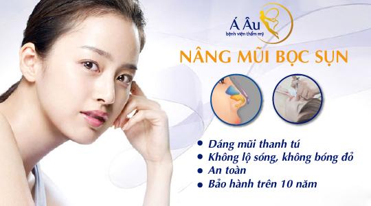 Công nghệ nâng mũi bọc sụn - giải pháp nâng mũi an toàn