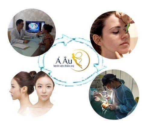Quy trình nâng mũi s line tại Bệnh viện thẩm mỹ Á Âu