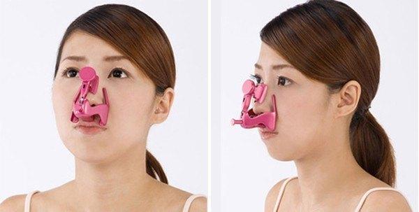 Kẹp mũi không phải là cách làm mũi nhỏ lại đúng đắn