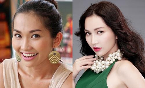 Gương mặt Kim Hiền ngày càng quyến rũ nhờ chiếc mũi S line tự nhiên mặc dù đã làm mẹ