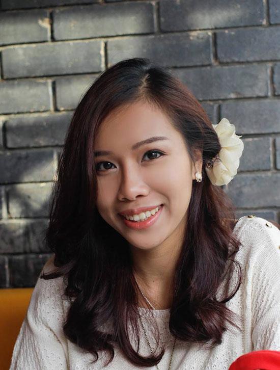Alicia Vũ hiện là chuyên gia trang điểm cho cô dâu có tiếng tại các sàn diễn thời trang lớn tại Luân Đôn