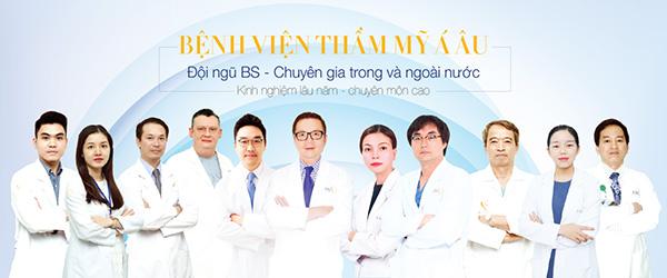 Đội ngũ bác sĩ bệnh viện Á Âu - những chuyên gia bác sĩ hàng đầu về cắt mí mắt