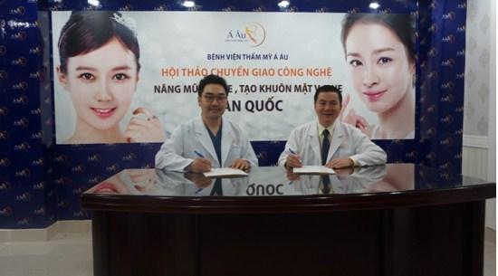 BVTM Á Âu áp dụng công nghệ cắt mí mắt hiện đại được chuyển giao từ Hàn Quốc