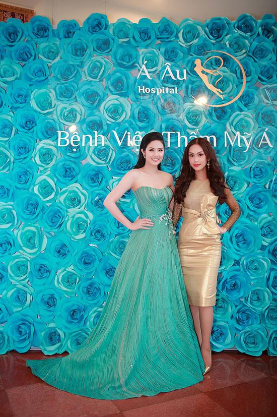 Hoa hậu Ngọc Hân và Á khôi Phương Linh cùng đọ sắc