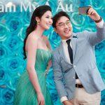 Hoa hậu Ngọc Hân rạng rỡ đọ sắc với Á khôi áo dài Phương Linh