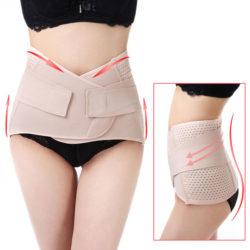 Đeo nịt bụng là cách giảm mỡ bụng sau sinh hiệu quả