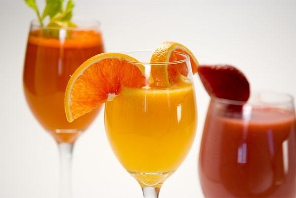 Nước ép trái cây giảm cân sau khi sinh