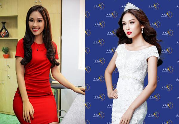 Làn da trắng sáng, rạng rỡ giúp Phương Linh tự tin đem hình ảnh người phụ nữ Việt và đất nước Việt Nam đến gần hơn với bạn bè quốc tế trong cuộc thi sắc đẹp diễn ra tại Nhật Bản.