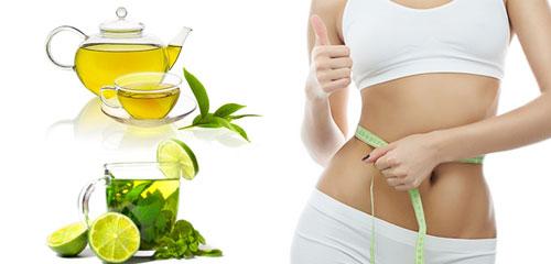 giảm mỡ bụng sau sinh tại nhà bằng trà xanh