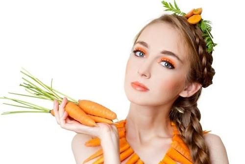 Cách chữa tàn nhang bằng cà rốt