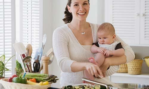 chê độ ăn giảm béo sau sinh