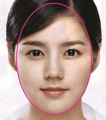 Khuôn mặt trái xoan