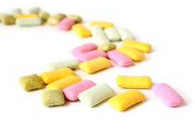 nhai kẹo cao su giúp giảm béo mặt