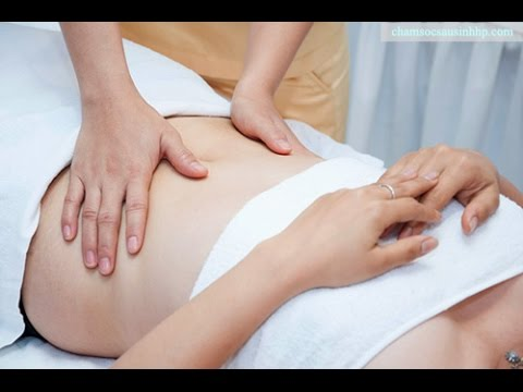 massage giúp giảm mỡ bụng nhanh