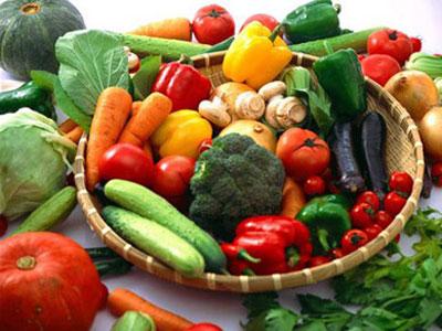 rau củ giúp giảm mỡ đùi