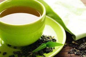 trà xanh giảm béo mặt