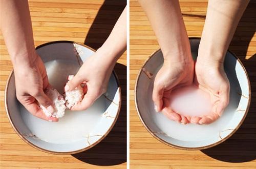 Cách trị tàn nhang bằng nước vo gạo