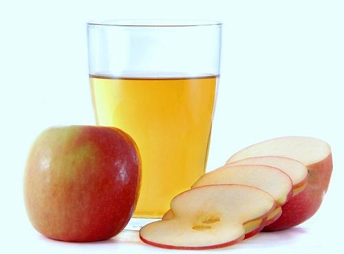 dấm táo giảm mỡ bụng