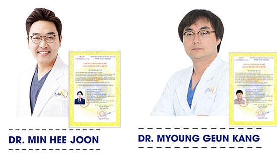 Đội ngũ Bác sĩ Hàn Quốc được Bộ Y Tế Việt Nam cấp phép