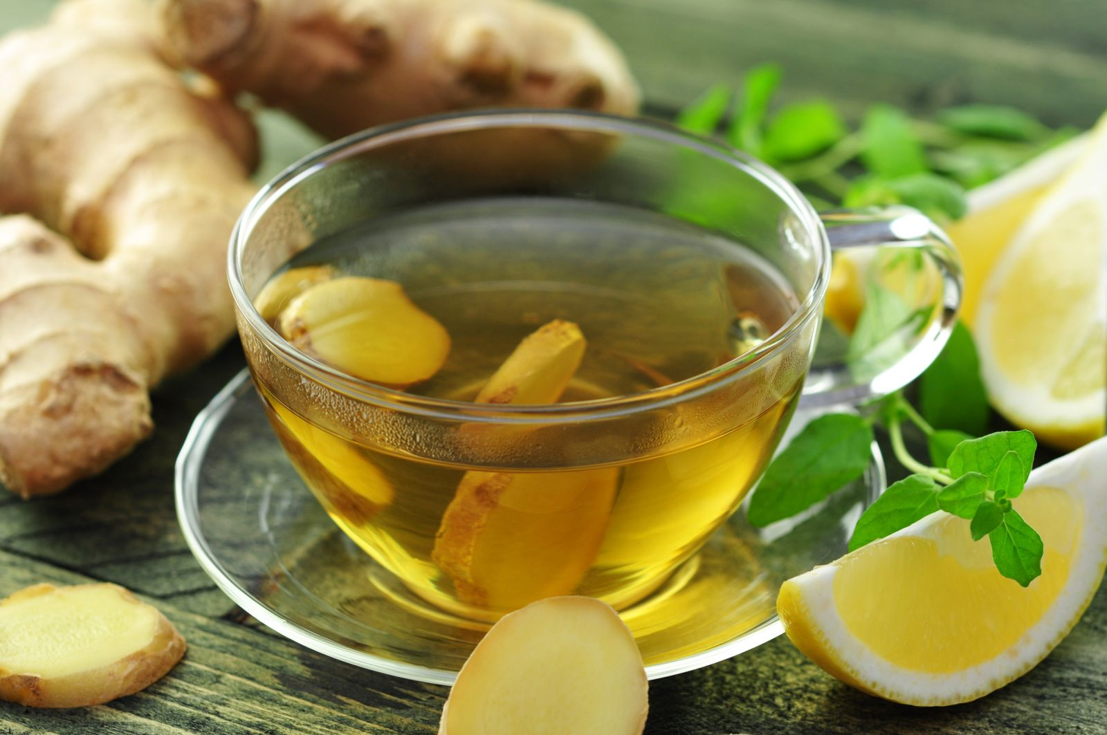 trà gừng giảm mỡ bụng