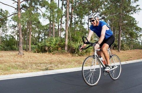 đi xe đạp giảm mỡ bụng