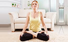 Hít thở - bài tập giảm mỡ bụng sau sinh mổ