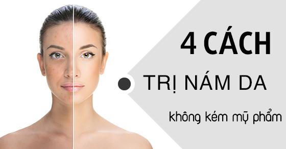 cách trị nám da mặt lâu năm hiệu quả 1