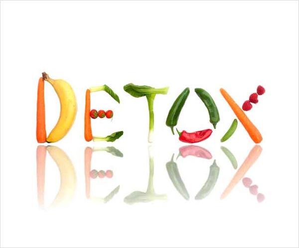 chế độ ăn uống giảm mỡ bụng Detox