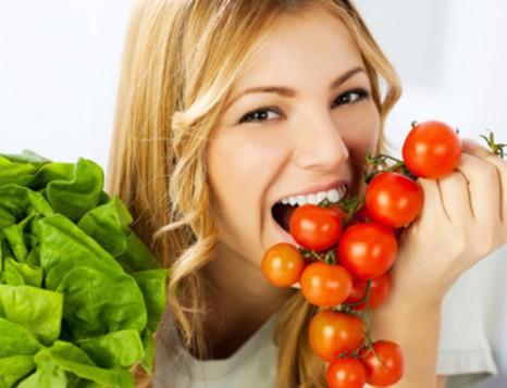 ăn cà chua giảm mỡ bụng