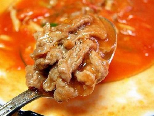 giảm mỡ bụng bằng cà chua nấu sốt thịt bò