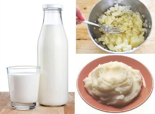 tắm trắng toàn thân bằng khoai tây
