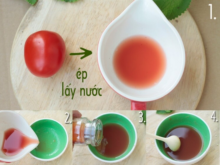 trị sẹo rỗ bằng cà chua 3