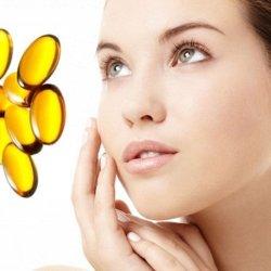 trị sẹo thâm bằng vitamin e 1