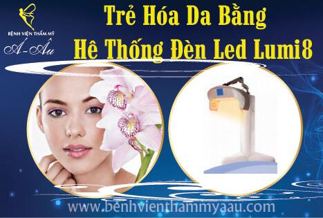 Trẻ hóa da bằng LED
