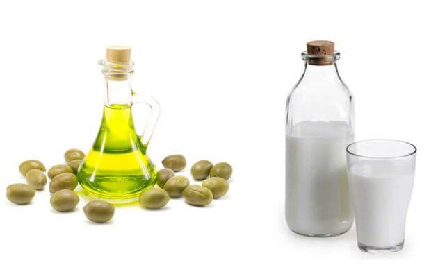 trị nám bằng dầu oliu 5