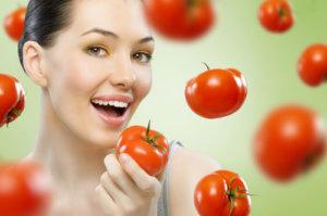 Trị nám với cà chua tại nhà hiệu quả