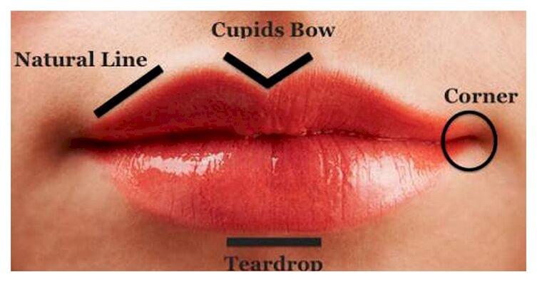 Tạo hình môi trái tim ở đâu đẹp