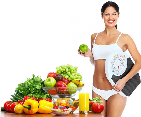Ăn uống đúng cách sẽ giảm được mỡ bụng