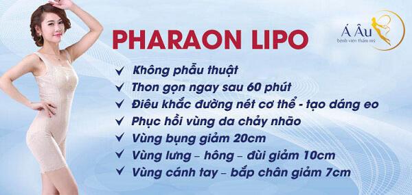 Pharaon Lipo có rất nhiều ưu điểm vượt trội