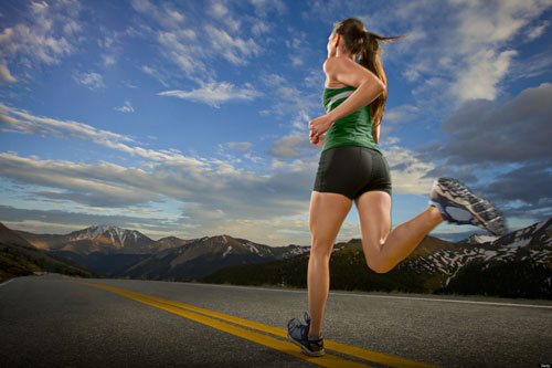 Chạy bộ không chỉ giảm mỡ bắp chân
