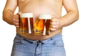Muốn hết mỡ nên giảm uống bia rượu tối đa