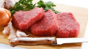 Thịt bò là thực phẩm không thể thiếu trong thực đơn của gymer