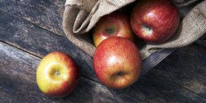 Giảm mỡ bụng nam bằng táo