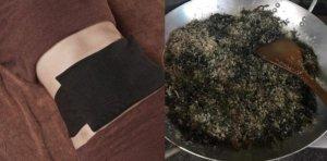 Giảm mỡ thừa bằng cách chườm muối rang và ngải cứu
