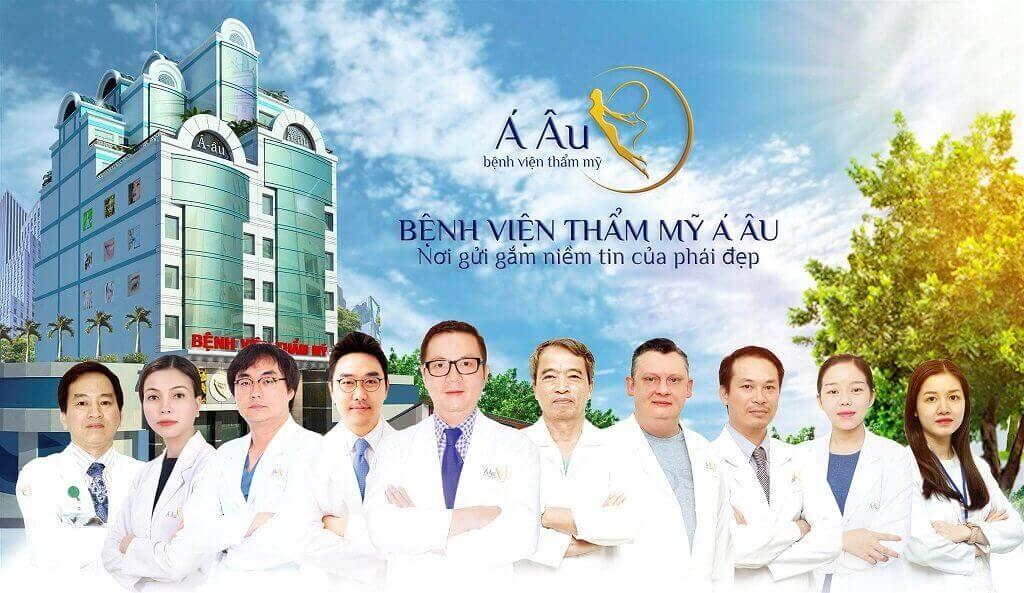 Đội ngũ bác sĩ chuyên nghiệp tại Bệnh viện thẩm mỹ Á Âu